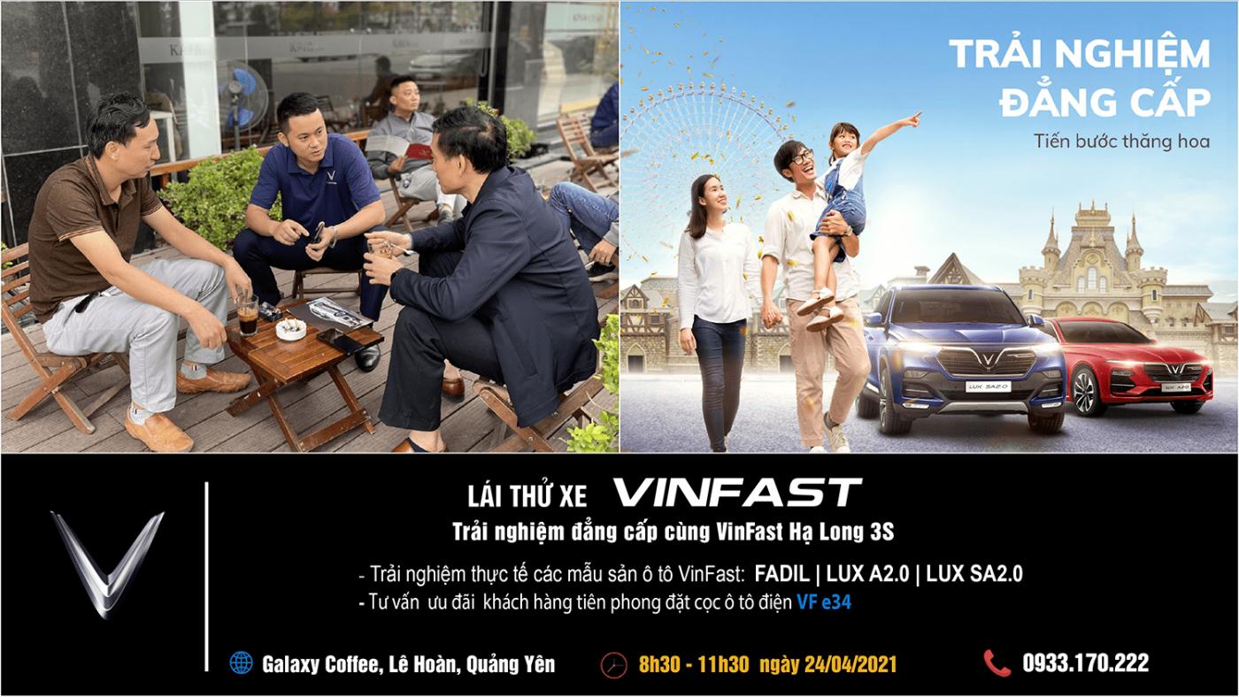 Lái thử VinFast